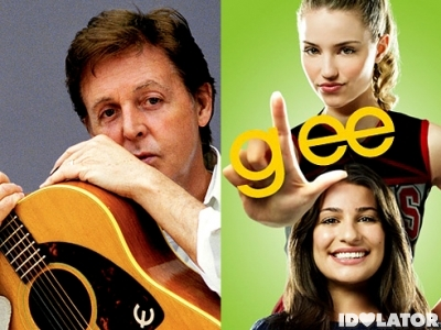 paul mccartney glee