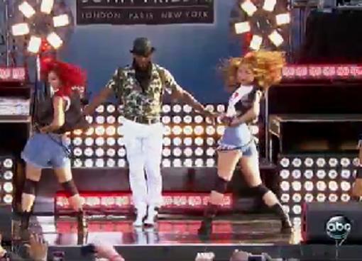 "Usher Makes 'Good Morning America' Say, ""Oh My God"""