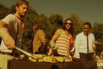 Kings Of Leon Radioactive music video
