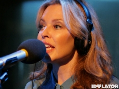 Kylie Minogue BBC Radio 1 Live Lounge