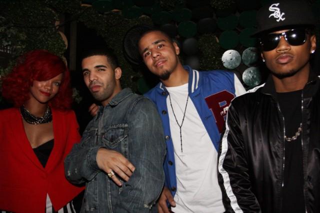 Rihanna Drake J. Cole Trey Songz