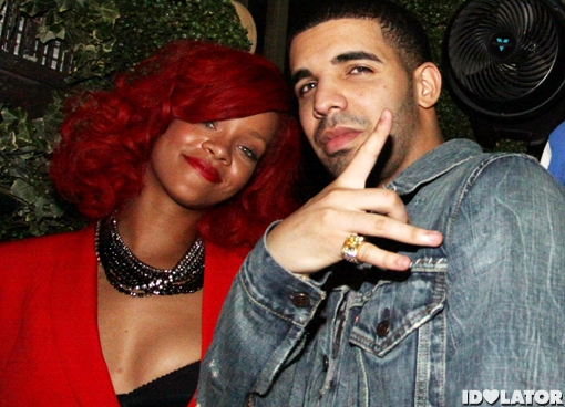 Rihanna and Drake after party