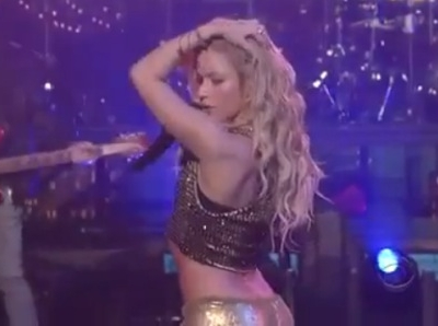 Shakira Loca David Letterman Late Show
