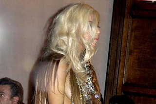 Lady Gaga Wears A Hair-Raising Dress In NYC (PHOTOS)