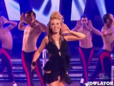 Kylie MInogue Dancing With The Stars DWTS Get Outta My Way