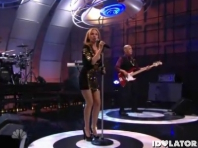 Kylie Minogue Tonight Show Jay Leno Get Outta My Way