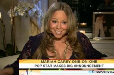 Mariah Carey announces pregnant pregnancy Today Show Access Hollywood Billy Bush