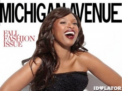 Michigan Avenue Jennifer Hudson cover