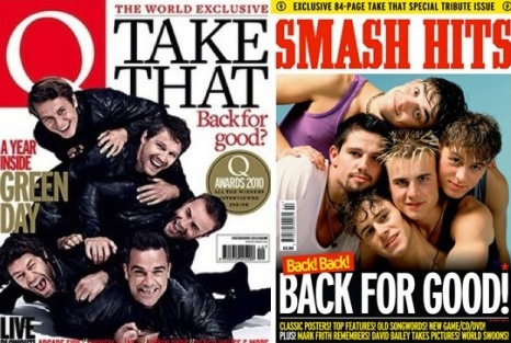 Take That Q Smash Hits