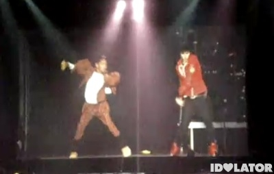 Willow Smith Justin Bieber dance dancing Los Angeles L.A. tour concert