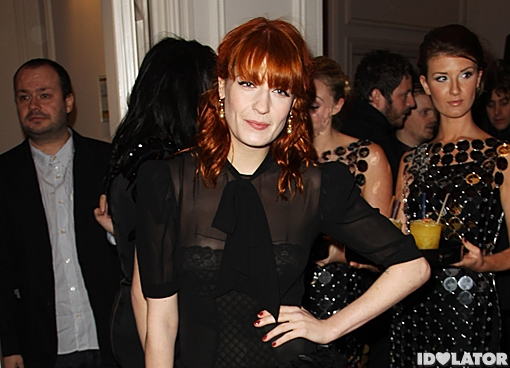 Florence Welch Q Awards 2010