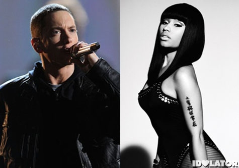 "Nicki Minaj And Eminem Let Their Alter Egos Roar On ""Roman's Revenge"""