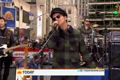 Bruno Mars The Today Show Grenade Just The Way You Are