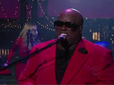 Cee Lo Green late Show David Letterman