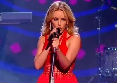 Kylie MInogue Better Than Today The X Factor