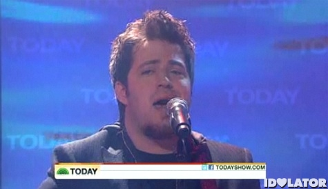 Lee DeWyze Sweet Serendipity The Today Show
