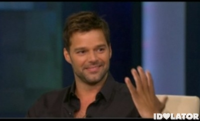 Ricky Martin Oprah Winfrey Show gay coming out come out