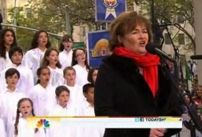Susan Boyle Today Show The Gift Perfect Day Holy Night