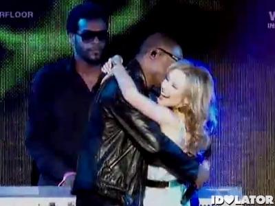 Taio Cruz Kylie Minogue Starfloor Higher