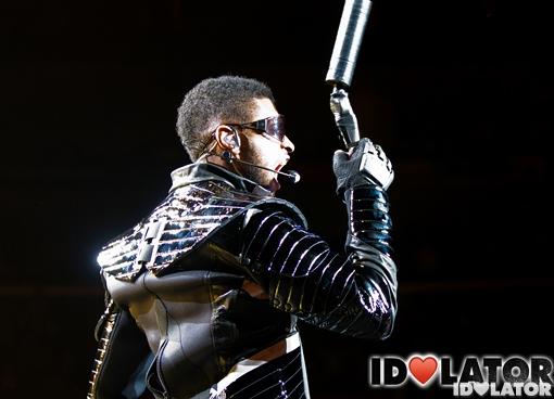Usher concert