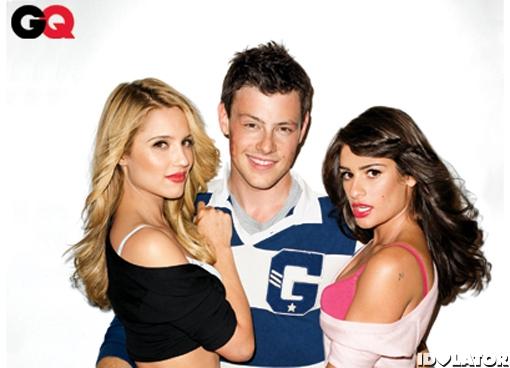 'Glee' GQ