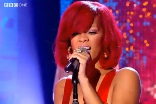 "Rihanna Performs ""Only Girl"" For 'Graham Norton'"