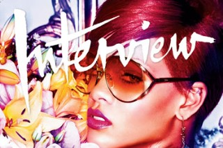Rihanna Is The Only Girl On The Cover Of 'Interview' Mag