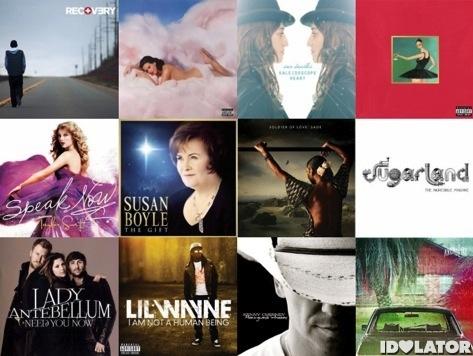Albums 2010