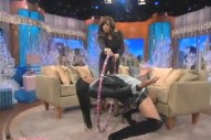 Ciara Shows Her Famous Matrix Move On 'The Wendy Williams Show'