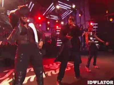 Diddy Dirty Money Ass On The Floor Jimmy Kimmel Live