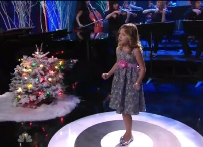 Jackie Evancho Tonight Show O Holy Night Jay Leno