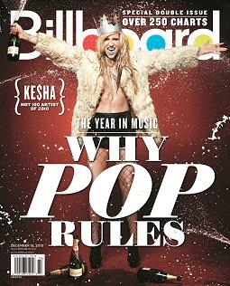 Ke$ha Billboard cover