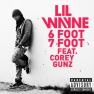 "Lil Wayne Leans On His ""6 Foot 7 Foot"" Single Cover"