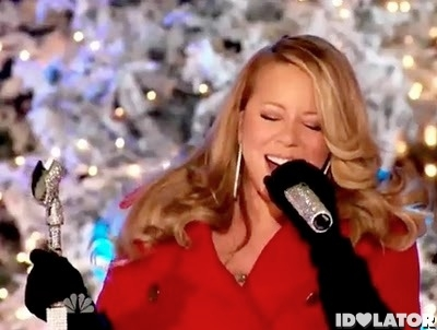 Mariah Carey Christmas Rockefe