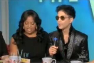 Prince Crashes 'The View', Flusters Sherri Shepherd