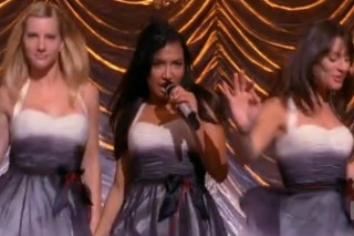 "Naya Rivera Does ""Valerie"" Better Than Winehouse On Last Night's 'Glee'"