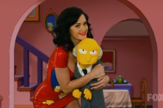 Katy Perry And Her Boobs Welcome On 'The Simpsons'