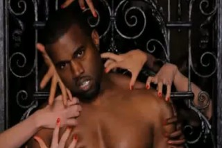 "Kanye West Hangs Out With Dead Models In ""Monster"" Video"