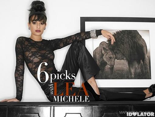 Lea Michele MarkT