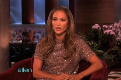 Jennifer Lopez The Ellen DeGeneres Show American Idol