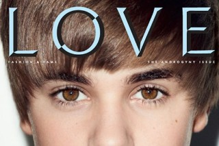 Justin Bieber Covers 'LOVE' Magazine