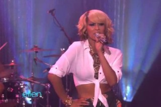 Keri Hilson Pretty Girl Rocks 'Ellen'