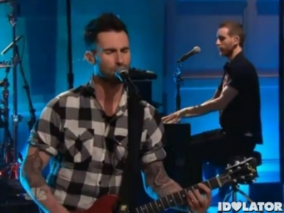 Maroon 5 Never Gonna Leave This Bed Tonight Show Jay Leno
