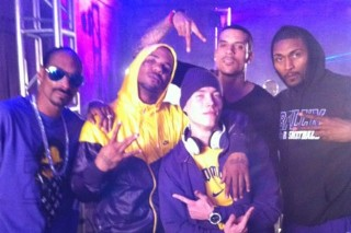 "Snoop Dogg And Game Alter Wiz Khalifa's Hit To ""Purp And Yellow"""
