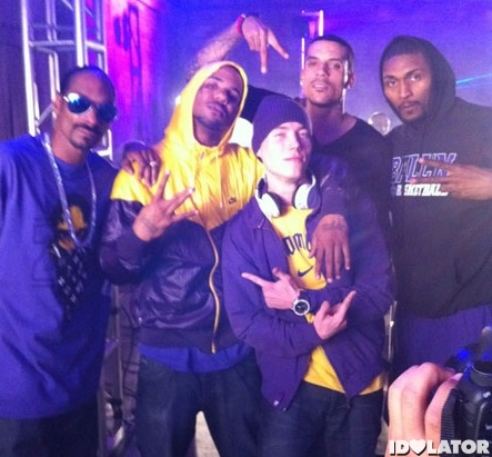 Snoop Dogg Game Purp And Yellow video set