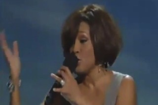 Whitney Houston Joins Kim Burrell On Stage At BET's 'Celbration Of Gospel'