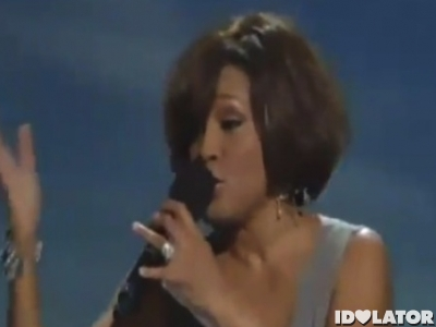 Whitney Houston BET Gospel I look to you