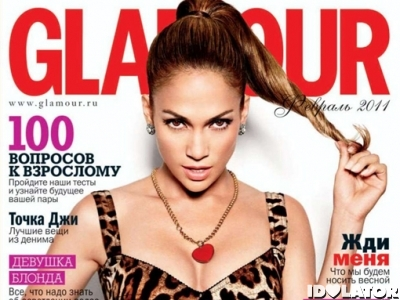 Jennifer Lopez Covers 'Glamour' Russia (PHOTOS)