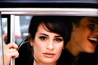 Lea Michele Is 'Glamour' UK's Cover Girl (PHOTOS)