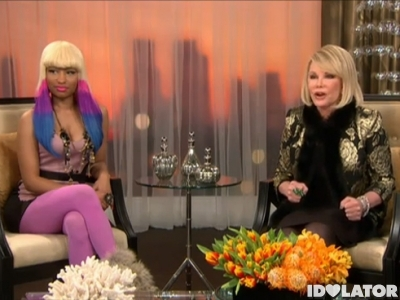 nicki minaj joan rivers